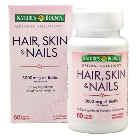 Nature Bounty Hair Skin Nails 60 Cap.